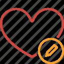 bookmark, edit, favorites, heart, like, love