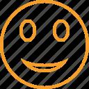 emoticon, emotion, face, smile