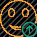 emoticon, emotion, face, smile, upload