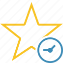 achievement, bookmark, clock, favorite, rating, star