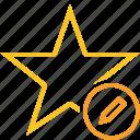 achievement, bookmark, edit, favorite, rating, star
