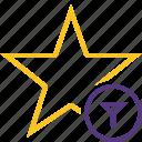 achievement, bookmark, favorite, filter, rating, star