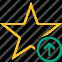 star, upload, achievement, bookmark, favorite, rating