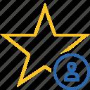 star, user, achievement, bookmark, favorite, rating
