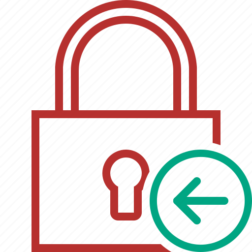 Access, lock, password, previous, protection, secure icon - Download on Iconfinder