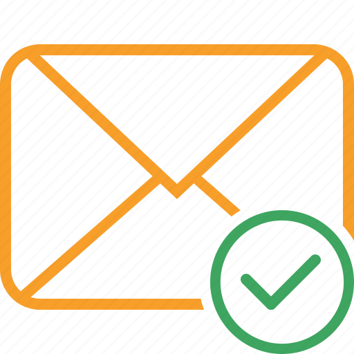 Communication, email, letter, mail, message, ok icon - Download on Iconfinder