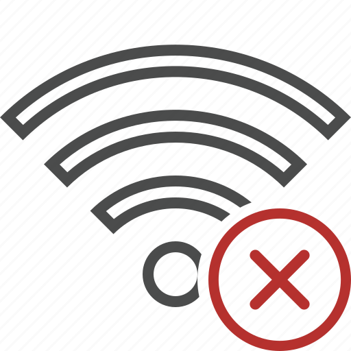Cancel, connection, fi, internet, wi, wifi, wireless icon - Download on Iconfinder