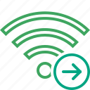 connection, fi, internet, next, wi, wifi, wireless icon