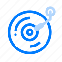 music, song, sound, vinyl icon