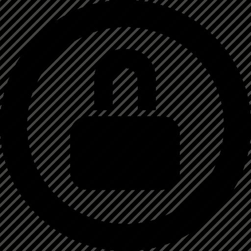 encryption, lock, password, protection icon