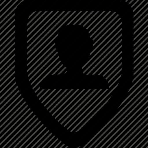 privacy, protect, shield icon