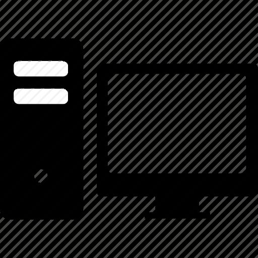computer, desktop, pc, screen icon