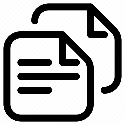 documents, files, notes icon