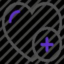 add, favorite, like, love, ui icon