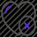 like, love, remove, ui icon