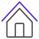 basic, home, house, ui icon