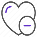 dislike, heart, like, love, ui icon