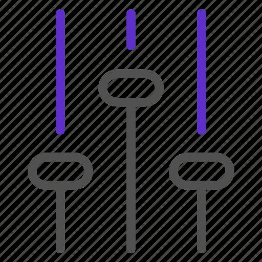 basic, equalizer, interface, multimedia, music, settings, ui icon