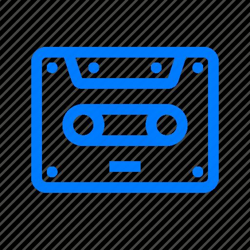 music, sound, tape icon