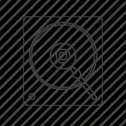lp, multimedia, music icon