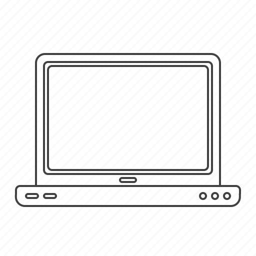 computer, laptop, multimedia icon