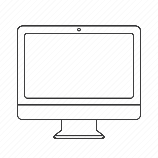 mac, monitor, multimedia icon