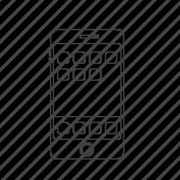 ios, multimedia, phone, smartphone icon