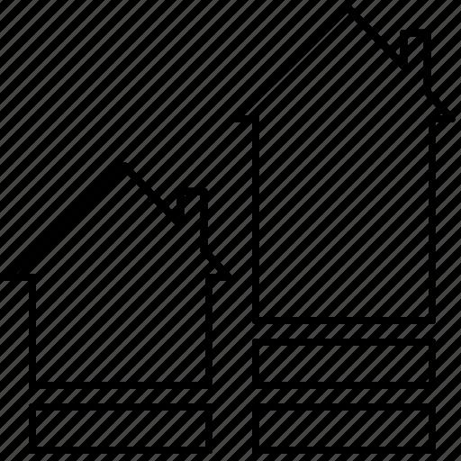 buy, home, houses, hunting, move, ratio icon