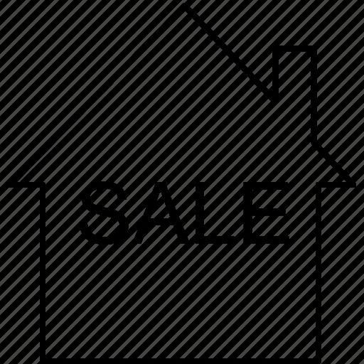 house, move, real estate, sale icon