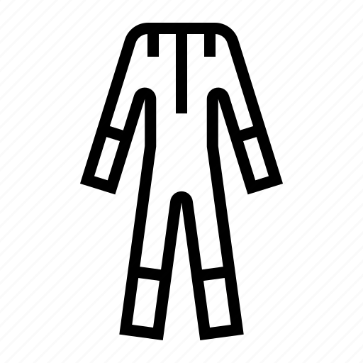 cloth, coat, labor, protective, suit icon