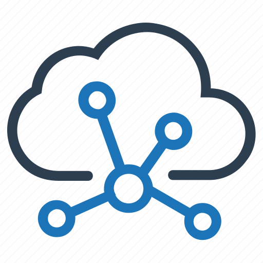 cloud, cloud connection, connection, network, sharing, web network icon
