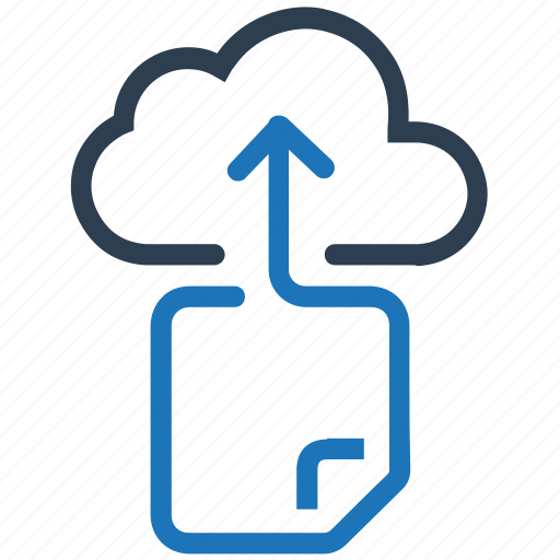 Cloud, document, file, file sharing, storage icon - Download on Iconfinder