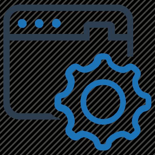 browser, optimization, seo, seo sevice, settings, web settings icon