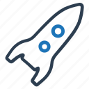 brand, energy, fast, project launch, rocket, space, startup icon