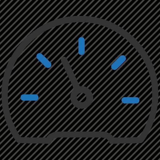 dashboard, fast, gauge, performance, speed, speedometer icon
