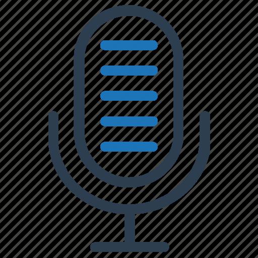 mic, microphone, speaker, speech, talk icon
