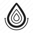 drop, line, water icon