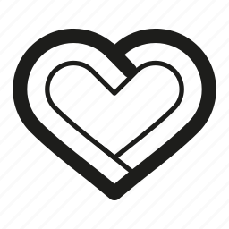 favourite, heart, like, line icon