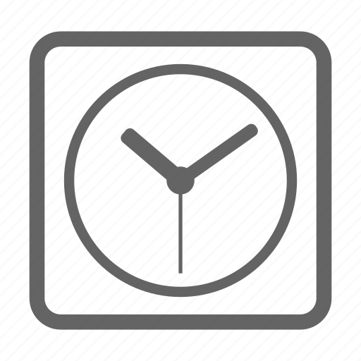 clock, currency, finance, line, money, stock icon