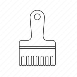 brush, outline, scrub, tools icon
