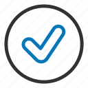 approved, check, good, ok, tick, yes icon