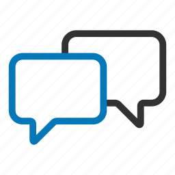 bubbles, chat, chatting, comment, conversation, social, talk icon
