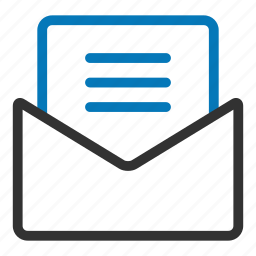 email, envelope, inbox, letter, message, reply icon