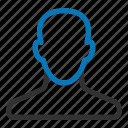 account, male, man, profile, user icon