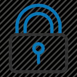 access, key, lock, privacy, safe, safety, unlock icon