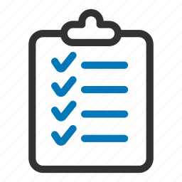 approved, checklist, clipboard, survey, tasks, ticks icon