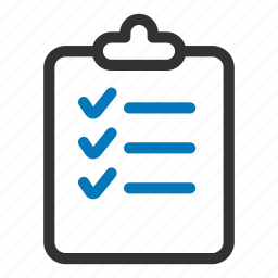 approved, checklist, clipboard, list, survey, tasks, ticks icon