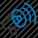 advertising, announce, announcement, marketing, megaphone, social icon