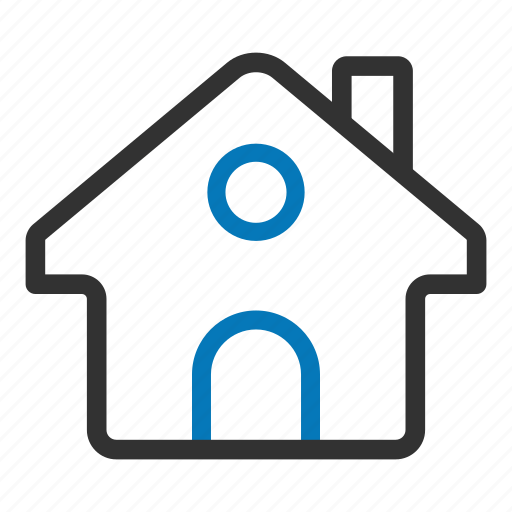 estate, family, home, homepage, house, return icon