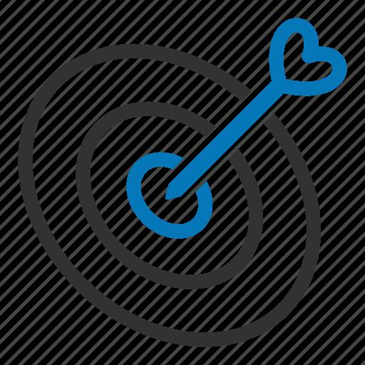 arrow, dart, focus, goal, seo, target icon